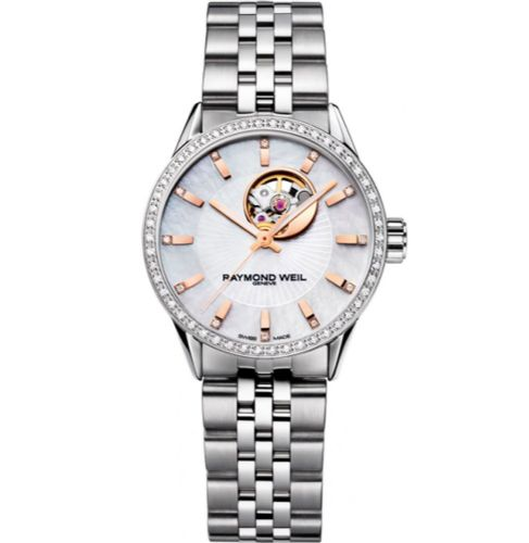 RAYMOND WEIL Freelancer 62 Diamond Automatic Ladies Watch 2410-STS-97981